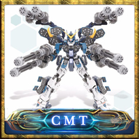 CMT In Stock Super Nova MG 1/100 XXXG 01H2 Heavy arms Mo Kai Custom Mobile Suit Anime Toys Figure