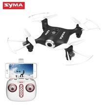 Original SYMA X21W Mini WIFI FPV With 720P Camera APP Controller Altitude Hold Mode RC Quacopter RTF Camera Drone Black White