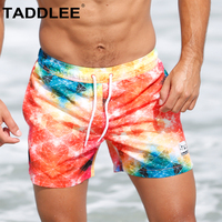 Taddlee Brand Swimwear Men Swimming Boxer Trunks Beach Wear Board Shorts Swimsuits Man Quick Drying Bathing Suits Boardshorts