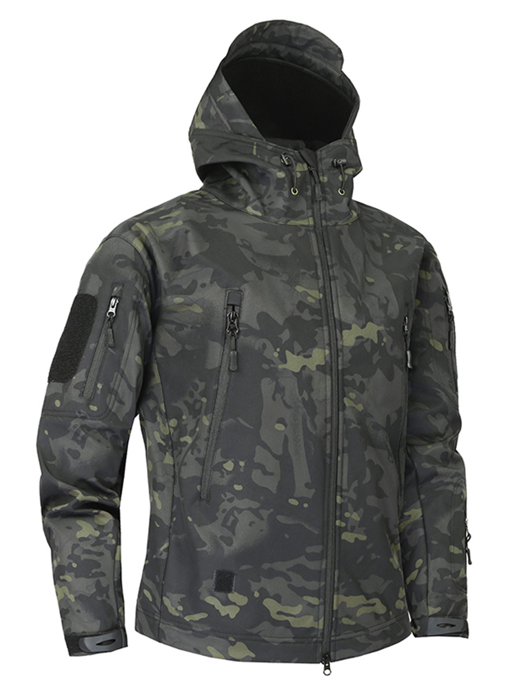 Clothing Windbreakers Multicam Tactical-Jacket Shark-Skin Soft-Shell Mege Military Army