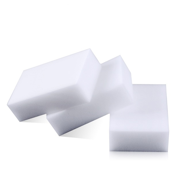 10PC* Melamine Sponge White Magic Sponge Eraser Melamine Cleaner Multi-Functional Eco-Friendly Kitchen Magic Eraser 100*60*20mm