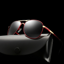 XIWANG 2019 High Quality Temperament New Style Polarized Brilliant Mens Sunglasses Classic Glasses For Drive Car Toad
