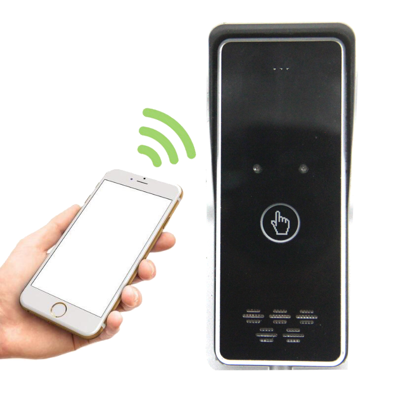 GSM Apartment Intercom System Access Control Kit Free Call Charge For Swing Gate Door Open Remote Controller K6s