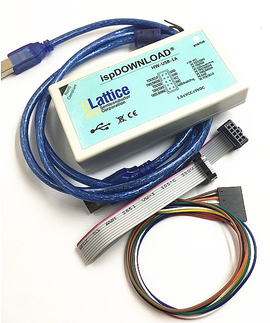 Latice USB Download Line FPGA CPLD ISP Download Simulator Burner HW-USBN-1A