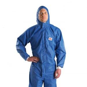 Image 2 - 3M 4532 معطف واقي غرف الأبحاث الملابس ومكافحة ساكنة مكافحة الكيميائية السائل سبلاش الإشعاع حماية فعالة الجسيمات