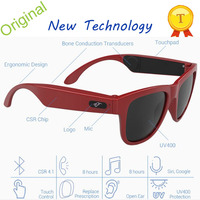 Wholesale Wireless Bone Conduction Headset Bluetooth Sunglasses For Driving Sports Speakers Glasses Headset Bluetooth Sunglasses