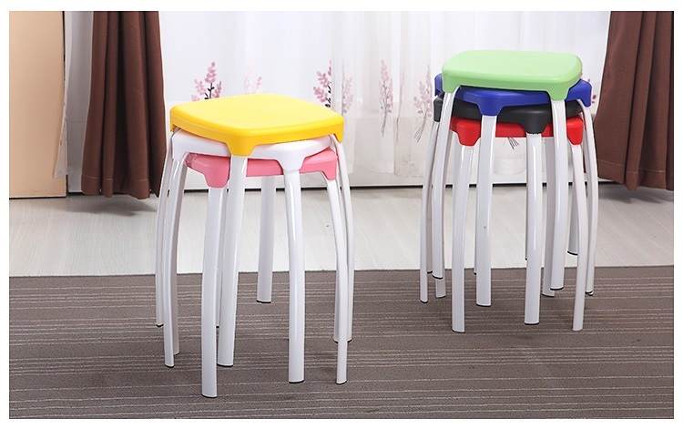 school classroon stool PP seat metal leg training Centre night school student stool retail wholesale free shipping все цены