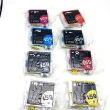 Vilaxh 9pcs t159 t1590-t1599 compatible ink cartridge For EPSON R2000 R2000S printer original