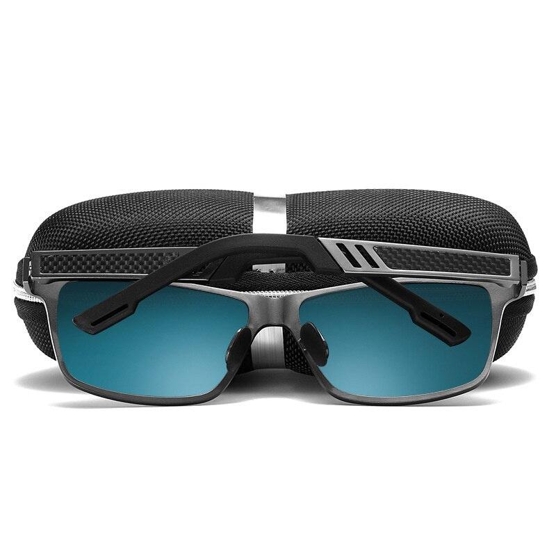 Image 3 - Retro Aluminum Magnesium Sunglasses Men Polarized Lens Vintage Classic Sun Glasses For Men Women Eyewear Original Accessories-in Men's Sunglasses from Apparel Accessories
