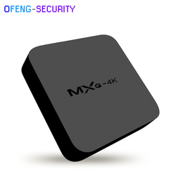 5 pz/lotto Smart tv converter MXQ4K Smart TV Box RK3229 Quad-core set top box Android 6.0 kodi 1 GB/2 GB 8 GB/16 GB HD 1080 P