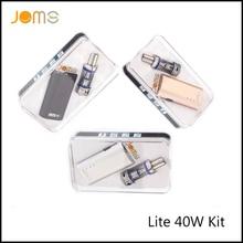 5ชิ้น/ล็อตJomoTechจดสิทธิบัตรบุหรี่อิเล็กทรอนิกส์2200มิลลิแอมป์ชั่วโมงบุหรี่อิเล็กทรอนิกส์Modsกล่องLite 40วัตต์eCigสมัยชุดกับของขวัญกล่องJomo-002: D5
