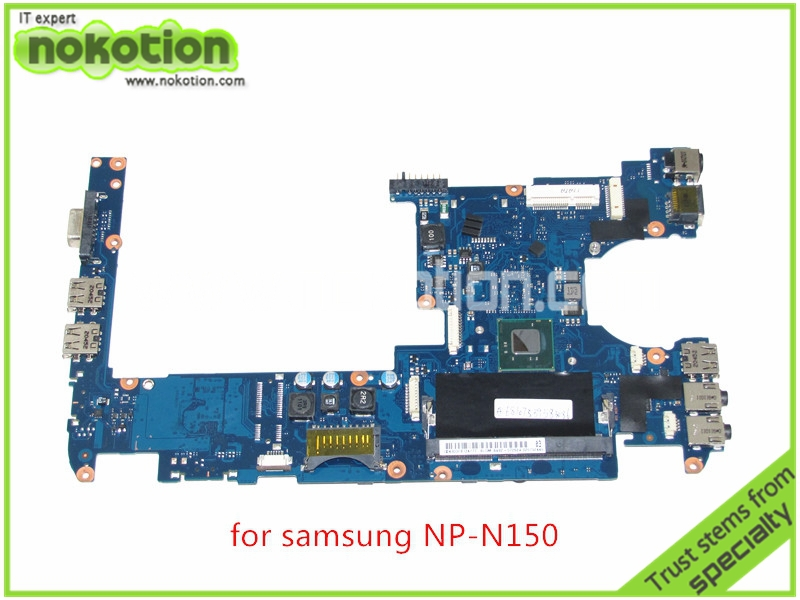 BA92-07262B BA92-07262A For samsung NP-N150 Laptop motherboard intel  N550 CPU DDR3 Mainboard ba92 05127a ba92 05127b laptop motherboard for samsung np r60 r60 ddr2 intel ati rs600me mainboard