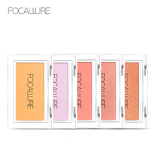 FOCALLURE Blusher Makeup Top Quality Professional Blush Bronzer Face Contour Make Up