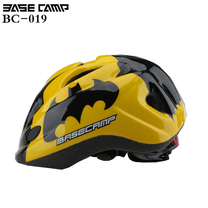 BASECAMP Kids Bicycle Helmet Boys Girls Helmets fiets helm casco mtb capacete bicicleta casco ciclismo Children Cycling Helmet