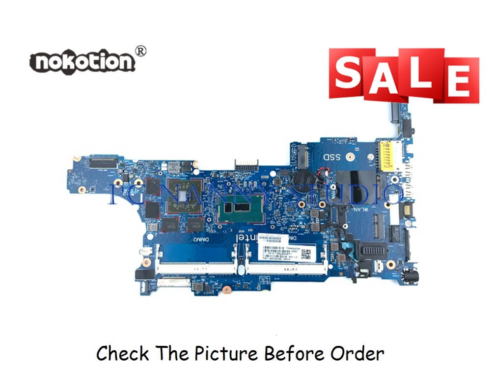 PCNANNY 799543-001 for HP EliteBook 840 850 G2 laptop motherboard 6050A2637901 <font><b>i7</b></font>-<font><b>5600U</b></font> tested image