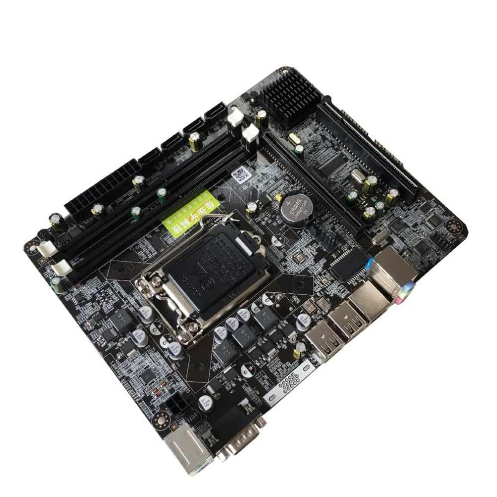 إنتل P55 6 قناة اللوحة الأم P55-A-1156 عالية الأداء كمبيوتر مكتبي اللوحة الرئيسية وحدة المعالجة المركزية واجهة LGA 1156