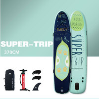 AQUA MARINA SUPER TRIP SUP Surf Board Stand Up Paddle Board Inflatable Surfboard 370*87*15CM Family Paddleboards For Surfing