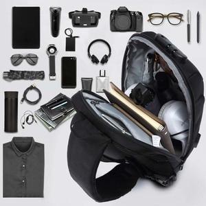 Image 4 - OZUKO Fashion Messenger Shoulder Bag Anti theft USB Charging Chest Pack Crossbody Bags for Men Sling Bag Fashion Phone Bags
