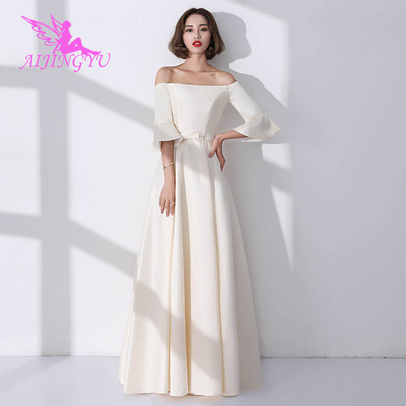 AIJINGYU 2018 hot sexy wedding guest party prom   dress     bridesmaid     dresses   BN140