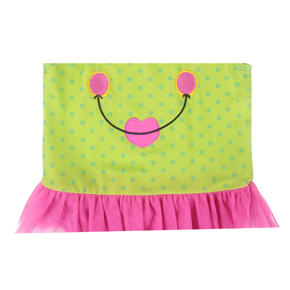 Fashional Cute The Frog Prince Age 3-10 Baby Girls Cotton Knit - Carnavalskostuums - Foto 4