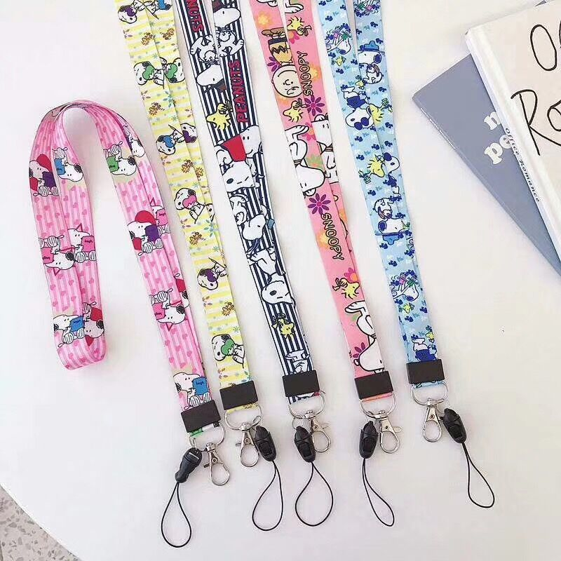 Lanyard Anime Cute Cartoon Neck Strap Lanyards For Keys ID Card Gym Mobile Phone Straps USB Badge Holder DIY Hang Rope Lariat