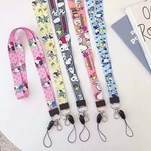 Lanyard Anime Cute Cartoon Neck Strap Lanyards for keys ID Card Gym Mobile Phone Straps USB badge holder DIY Hang Rope Lariat cute cartoon neck strap lanyards for keys id card gym mobile phone straps usb badge holder diy hang rope lariat lanyard
