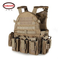 1000D Army Green Black Outdoor Hunting Wargame Paintball Protective Plate Carrier Waistcoat Airsoft Vest Tactical Combat Vests