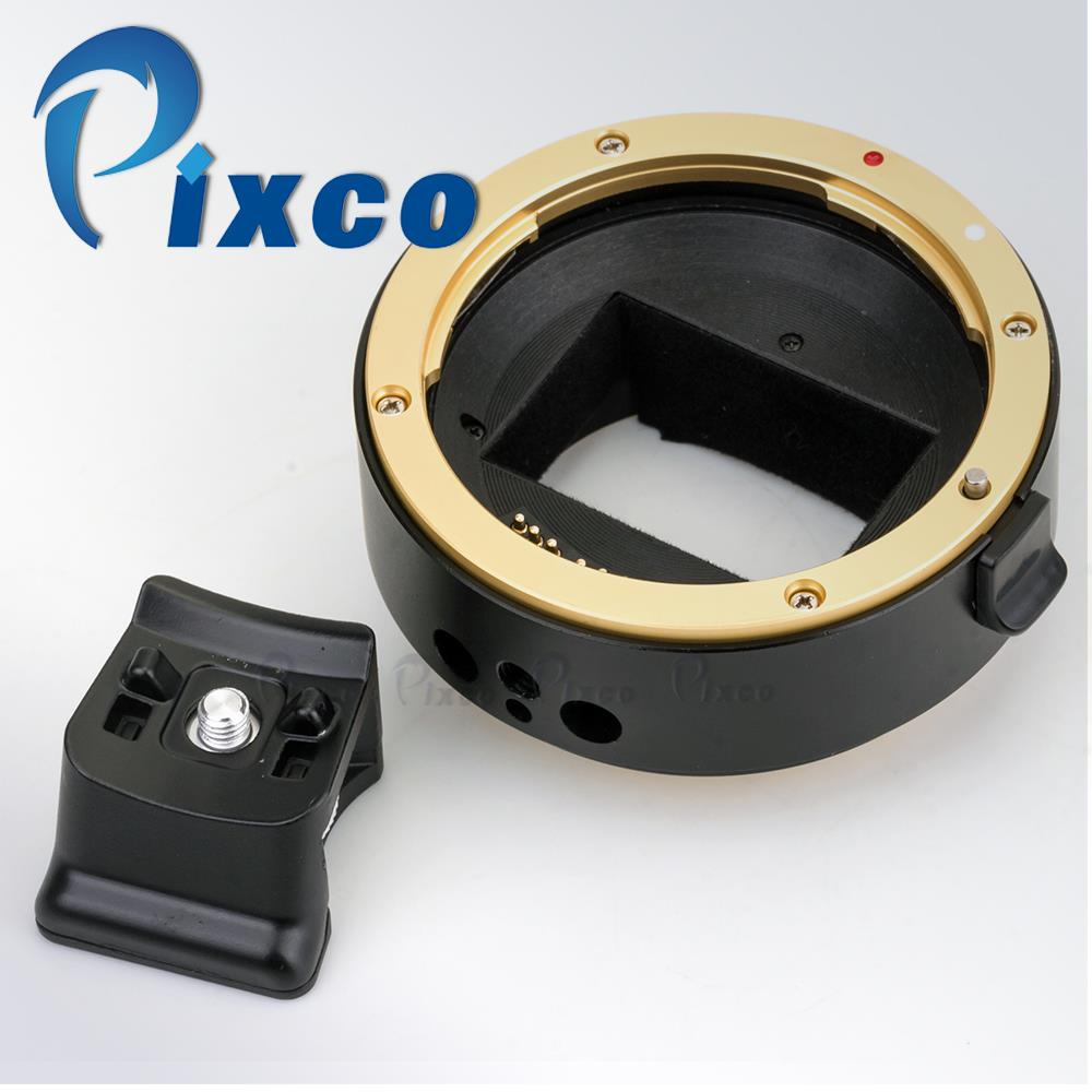Pixco Third Generation Electronic Autofocus AF Confirm Adapter Ring Suit For /canon EF Mount USM Lens To /sony NEX Full-Frame