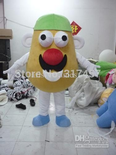 2017 new arrive mr potato head fancy dressparty dress adult character halloween cosplay mascot costume free shipping in mascot from novelty special use