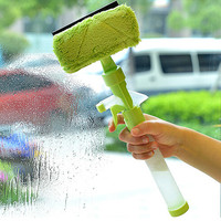 Hot Upgraded Telescopic High rise Window Cleaning Glass Cleaner Brush For Washing Window Dust Brush Household cleaning tools#G8