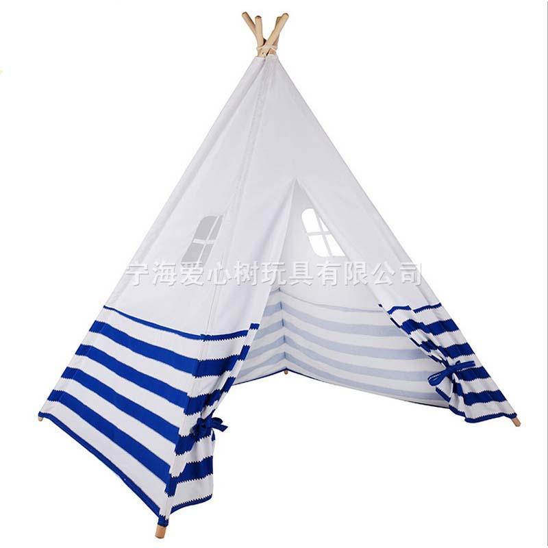 nuevo diseo de rayas azules y blancas nueva casa juego carpa tiendas de campaa al aire