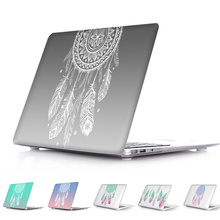Erstaunliche Einzigartige Dream Catcher Feather Pattern Air 13 11 Crystal Clear fall für MacBook Pro Retina 13 15 Hard Cover Mac Buch 12