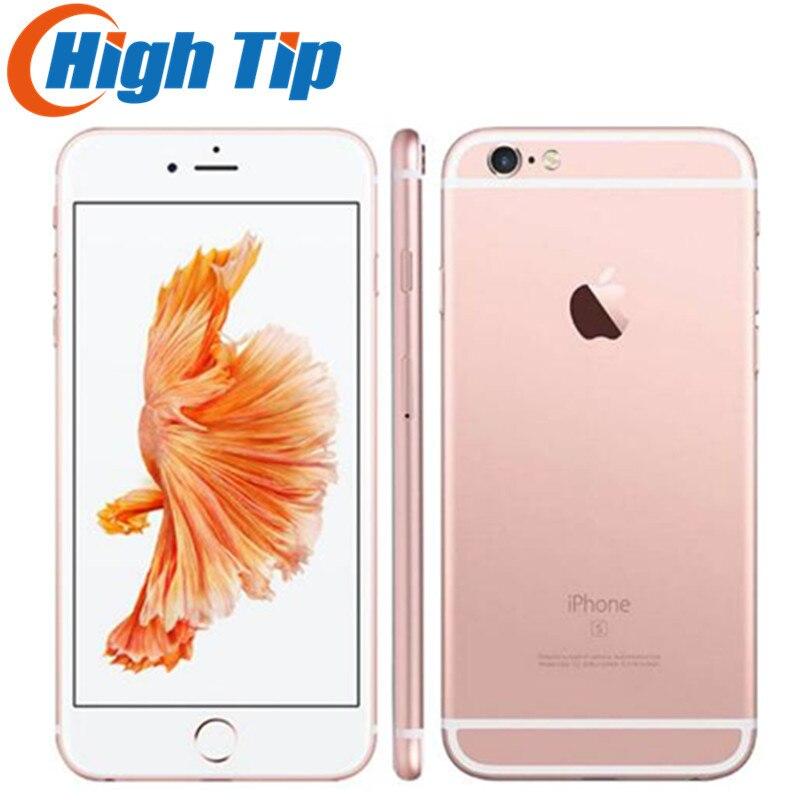Débloqué Original Apple iphone 6 S Smartphone 4.7 IOS 16/64/128 gb ROM 2 gb RAM 12.0MP dual Core A9 4g LTE UTILISÉ Mobile Téléphone