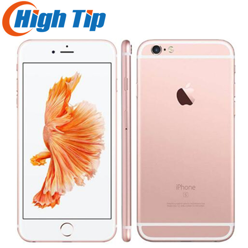 "Unlocked Original Apple iphone 6S Smartphone 4.7"" IOS 16/64/128GB ROM 2GB RAM 12.0MP Dual Core A9 4G LTE USED Mobile Phone"