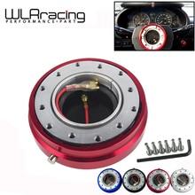 WLR RACING-4 цвета, тонкая версия, 6 отверстий на рулевом колесе, быстроразъемный концентратор, адаптер, отстегивающийся Boss kit WLR3858