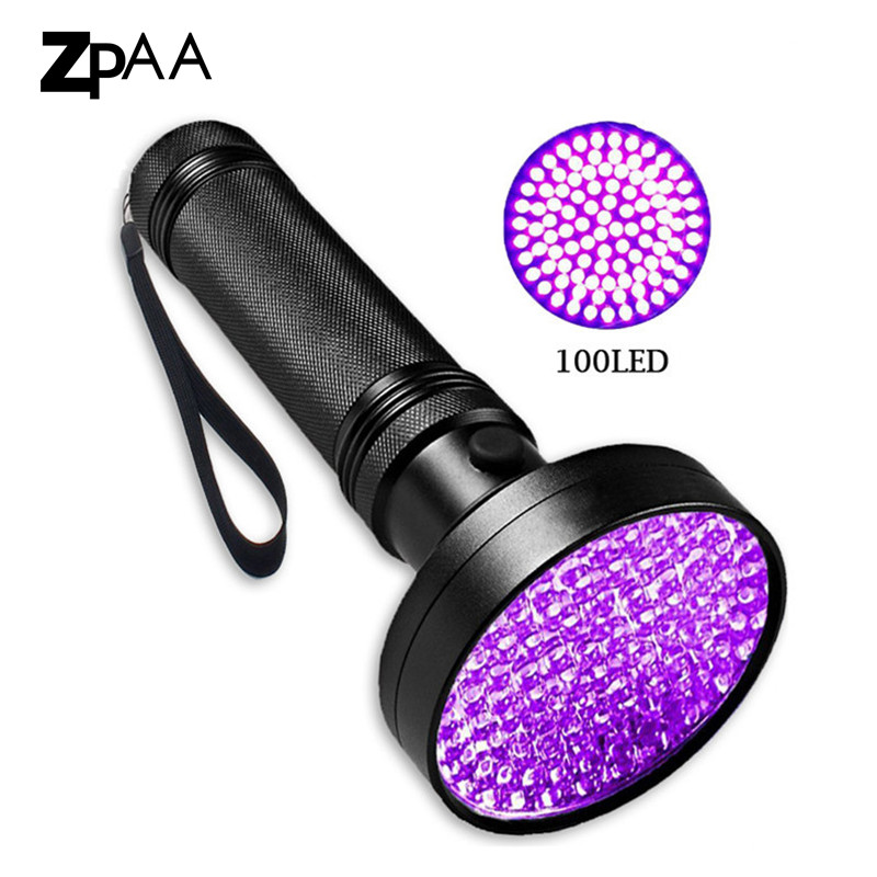 51/100 LED UV Flashlight Torch Light Black Light 395 nM Ultraviolet Blacklight Detector for Dog Urine, Pet Stains and Bed Bug ...