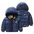 Baby car wadded jacket 2015 winter  coat male child children's clothing cotton-padded jacket plus velvet outerwear wt-5300