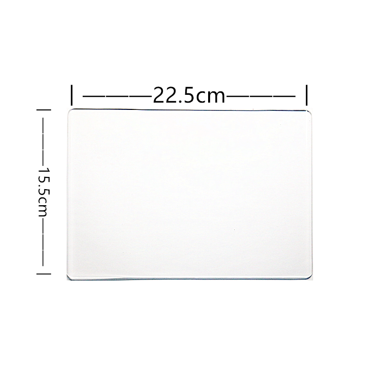 AZSG 3mm Thickness Transparent Plastic Plate Can Be Used For Cutting Dies/Paper Cutter/Die-Cut Machine
