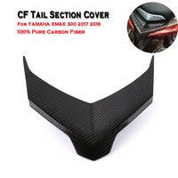 Franchise Carbon Fiber CF Tail Section Cover Wing Cover For YAMAHA XMAX 300 2017 2018 Super Strong Cap Cover #0520