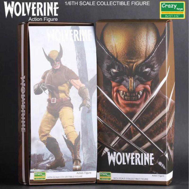 Crazy Toys X-men Wolverine Action Figure 1/6 Scale Collectible Toys 7 30cm