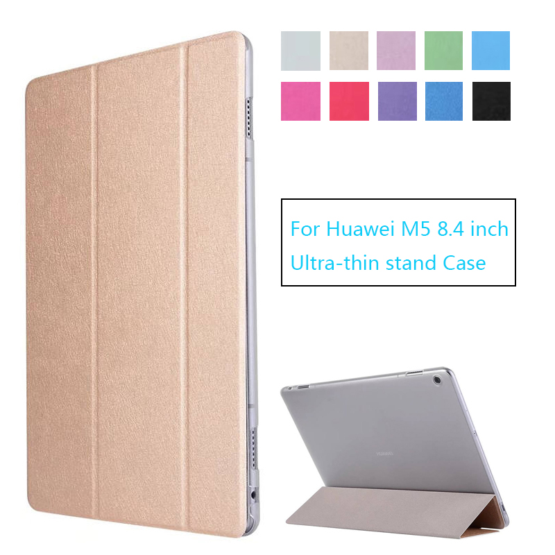 PU Leather Case cover For Huawei MediaPad M5 8.4 inch Tablet PC Protective Case For Huawei M5 8.4 lte case SHT-AL09 SHT-W09 nillkin protective pu leather pc case cover for huawei honor 3x g750 black