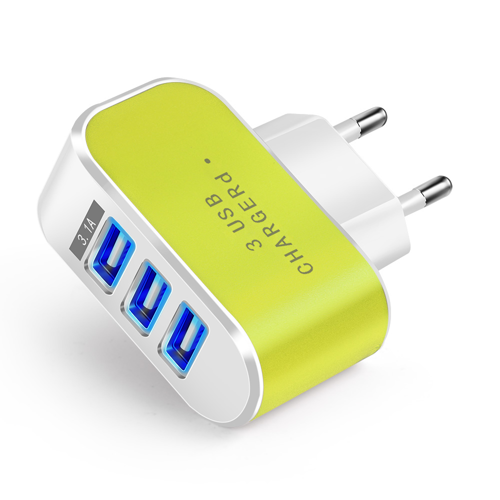 Universal Candy EU Plug USB Charger 5V 2A Travel Wall Charger Adapter For iPhone Samsung Portable Smart Mobile Phone Chargers