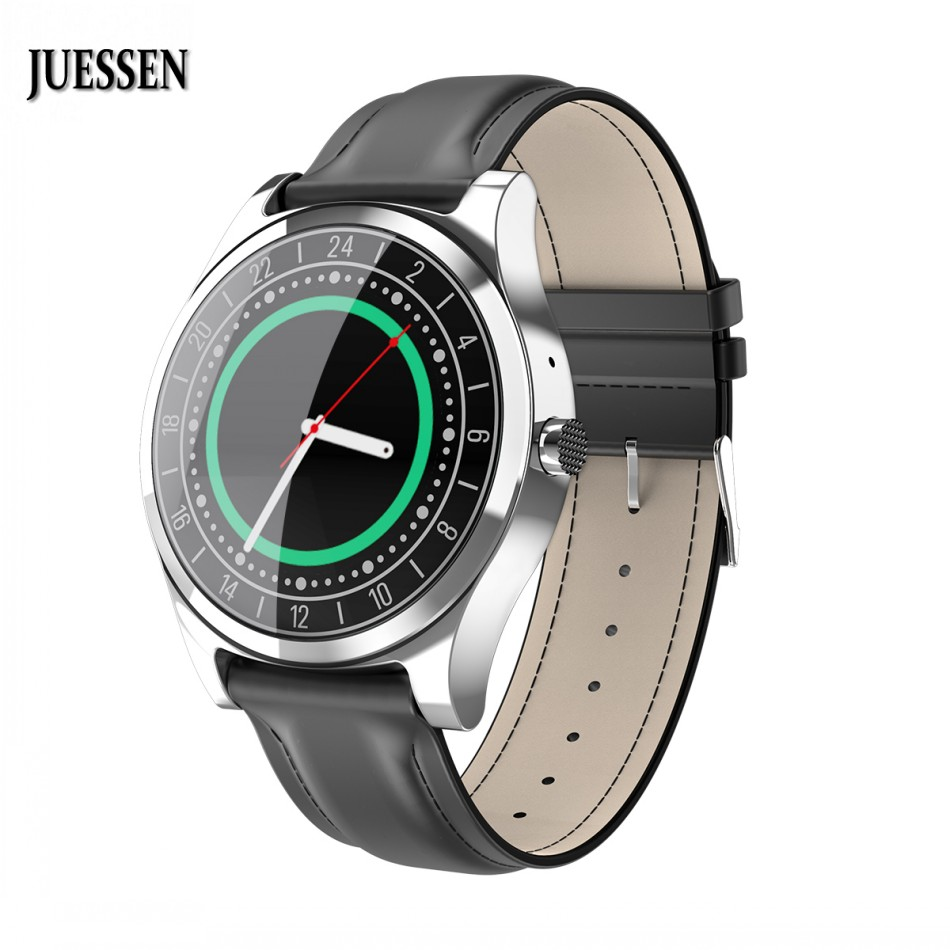 JUESSEN Relojes DT19 Smart Watch Mens Business Watches Men Pedometers Message Reminder Bluetooth Smartwatch for ios Android