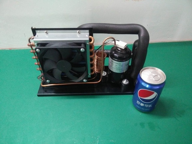 24v Super Mini Condensing Unit With Micro Compressor For