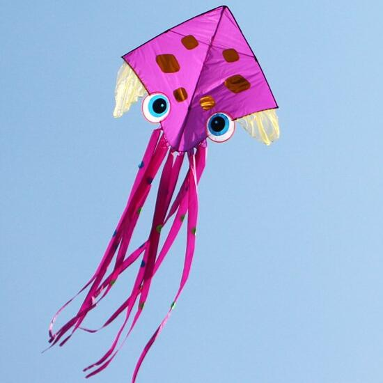 free shipping high quality new deisgn octopus kites 10pcs/lot children kites sale with handle line outdoor toys flying wei