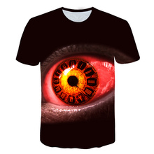 2019 New Product Launch  Psychedelic Eye T-Shirt Trippy Pattern Leads to an all-seeing Eye Vibrant Design Women Men Tees summer trippy t shirt