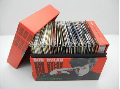 The Complete Album Collection Vol. One Bob Dylan 47 CDs Music CD Box set cd bob dylan the bootleg series volumes 1 3 rare unreleased 1961 1991