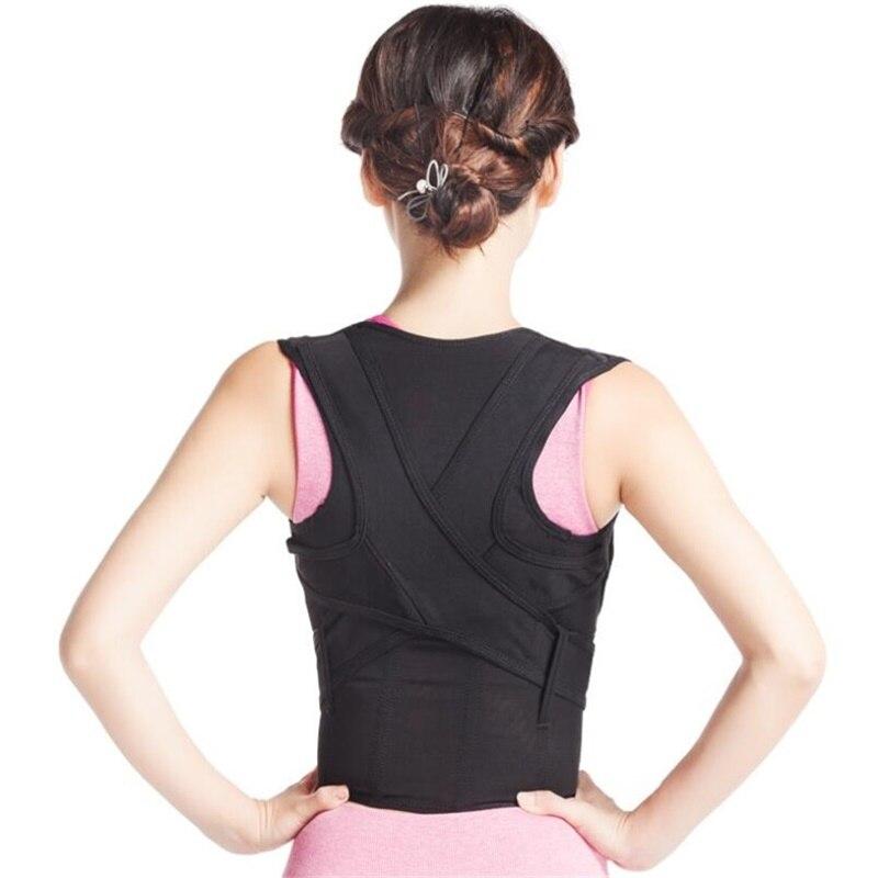 New Unisex Breathable Shoulder Back Posture Corrector Back Brace Sport Women Man Posture Support Belt