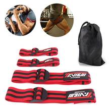 Фитнес окклюзии повязки для тренировки Бодибилдинг Вес кровотока ограничения полосы рука обертывающий ногу быстрый рост мышц тренажерный зал оборудования