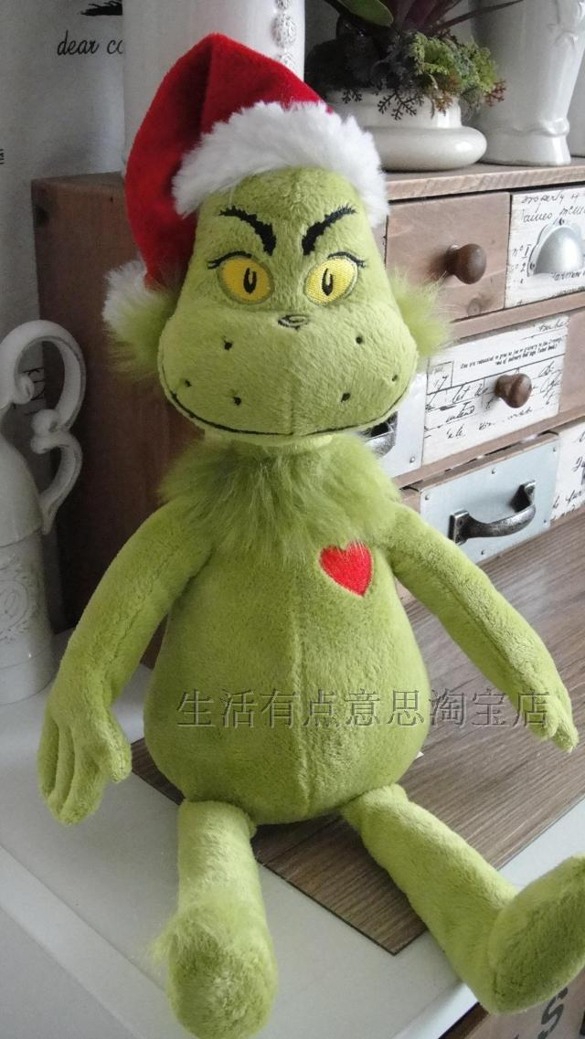 Christmas Plush Toys : Online buy wholesale grinch stuffed animal from china